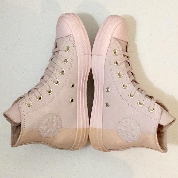 New Converse Allstar Nude Blush Pink